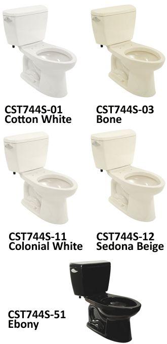 Two Piece Toilets Ebony Dog Bowls Pieces