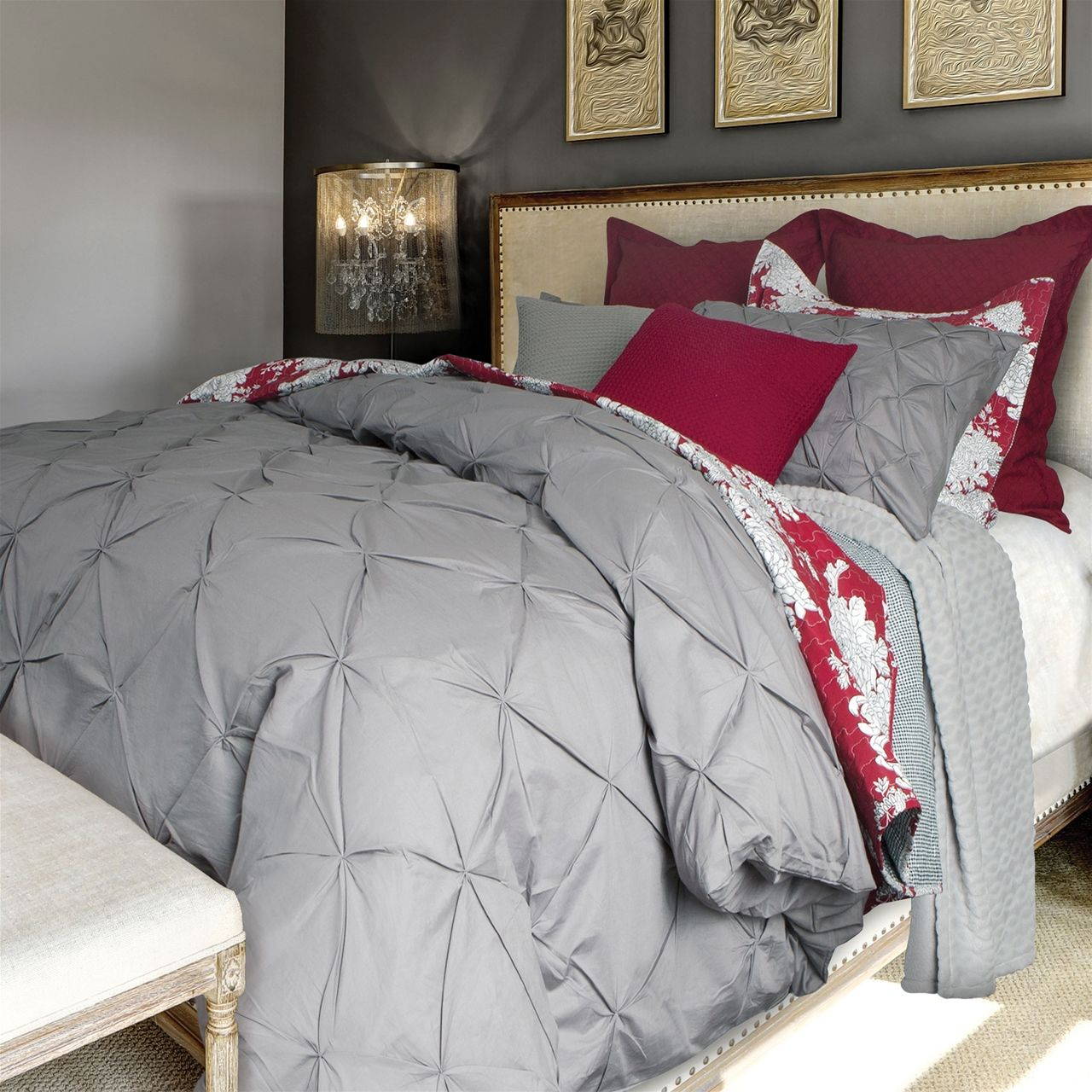 Quilts Etc. has a wide selection of Printed Duvet Cover set, duvet ... : pintuck quilt cover - Adamdwight.com