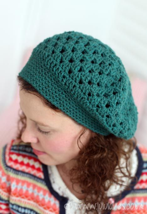 I Love This Granny Beret That Lululoves Hooked Up Crochet