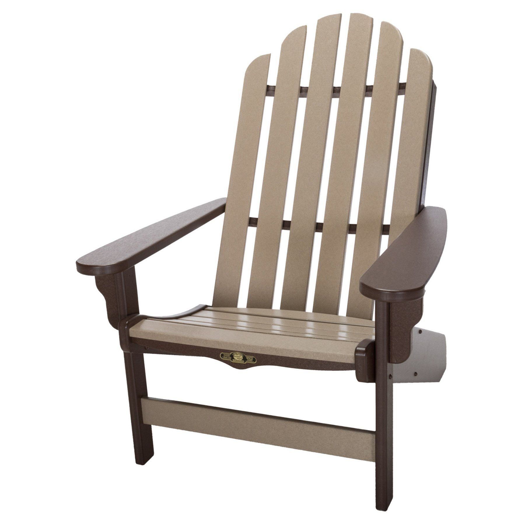 Outdoor Pawleys Island Essentials Two Toned Adirondack Chair - DWAC1CHOWW