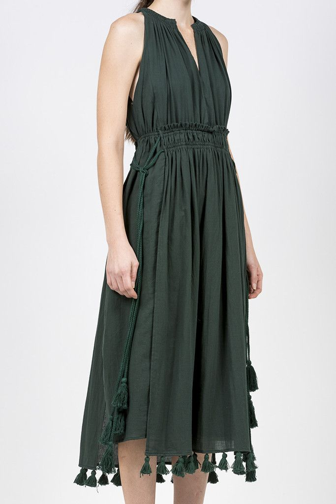Lippard Sleeveless Dress, Mallard by Apiece Apart @ Kick Pleat - 3