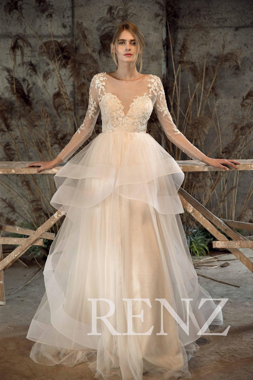 12 Most Beautiful Wedding Dresses Under $500 | #bridalgown #bride ...