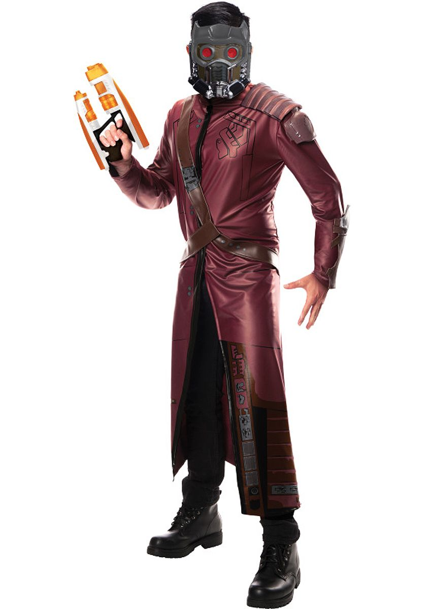 Adult Star-Lord Costume of Guardians of the Galaxy - Deluxe ...
