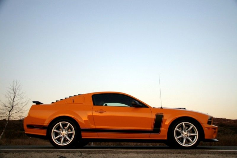 2007 Saleen 302 Parnelli Jones Limited Edition Mustang - Side View
