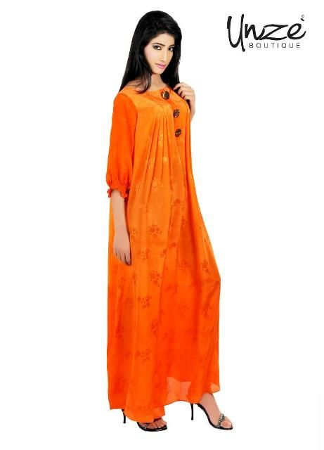 4eed6824e9a Unze Summer Long Frocks 2013-2014 Collection