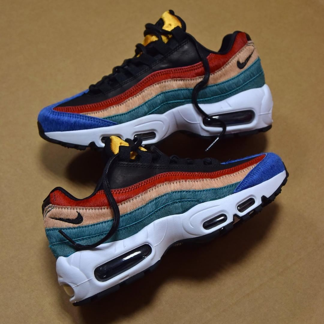 Nike W Air Max 95 Rio Teal . Disponible/Available: SNKRS.COM