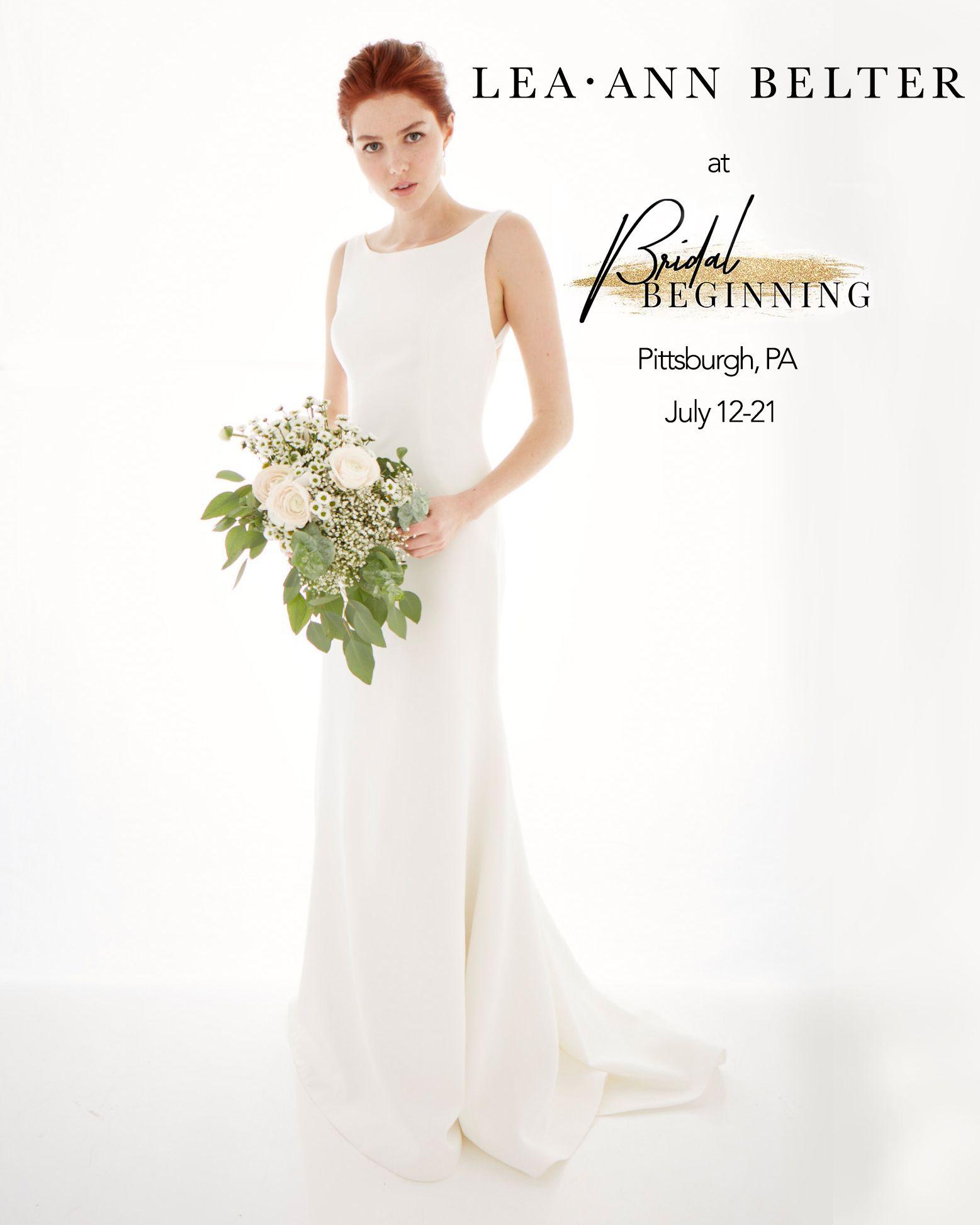 Pittsburgh Bridal Gown Trunk Show Bridal Beginning Lea Ann Belter Bridal Wedding Gowns Mermaid Pink Wedding Dresses