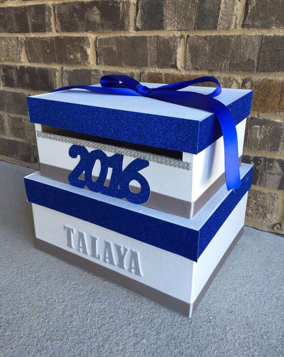 Graduation Card Box Card Holder Letter Box Money Holder