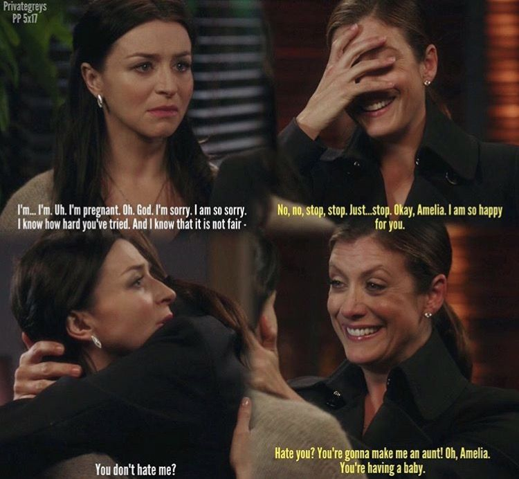 Private Practice 5x17 Amelia telling Addison that she's ...