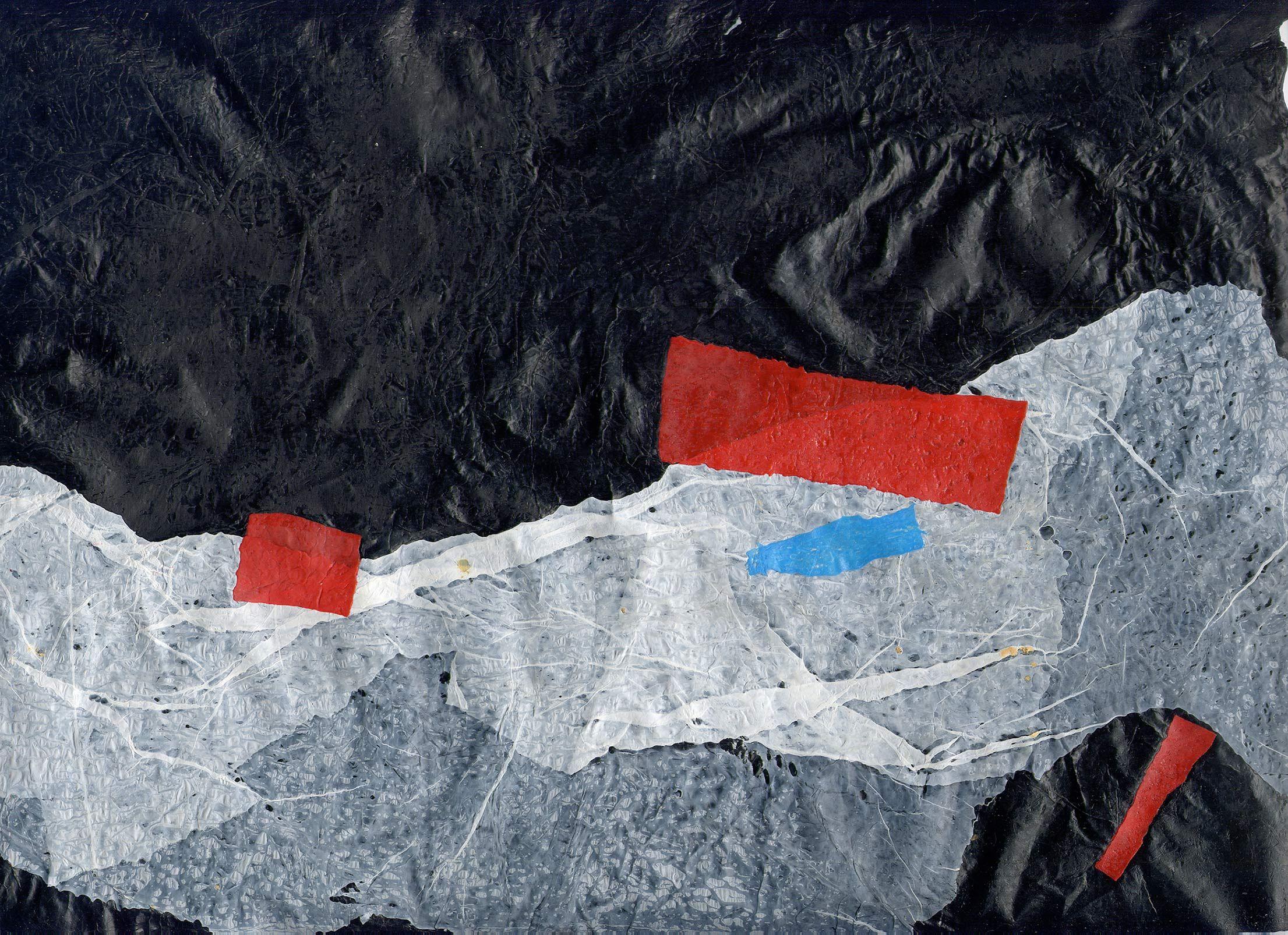 Plastica. Silvana Cianciolo #art #abstract #texture #plastic #black