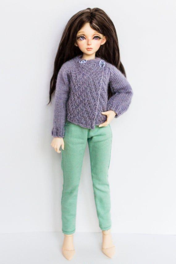 BJD clothes. 1/4 bjd Cardigan for MSD, MiniFee swe