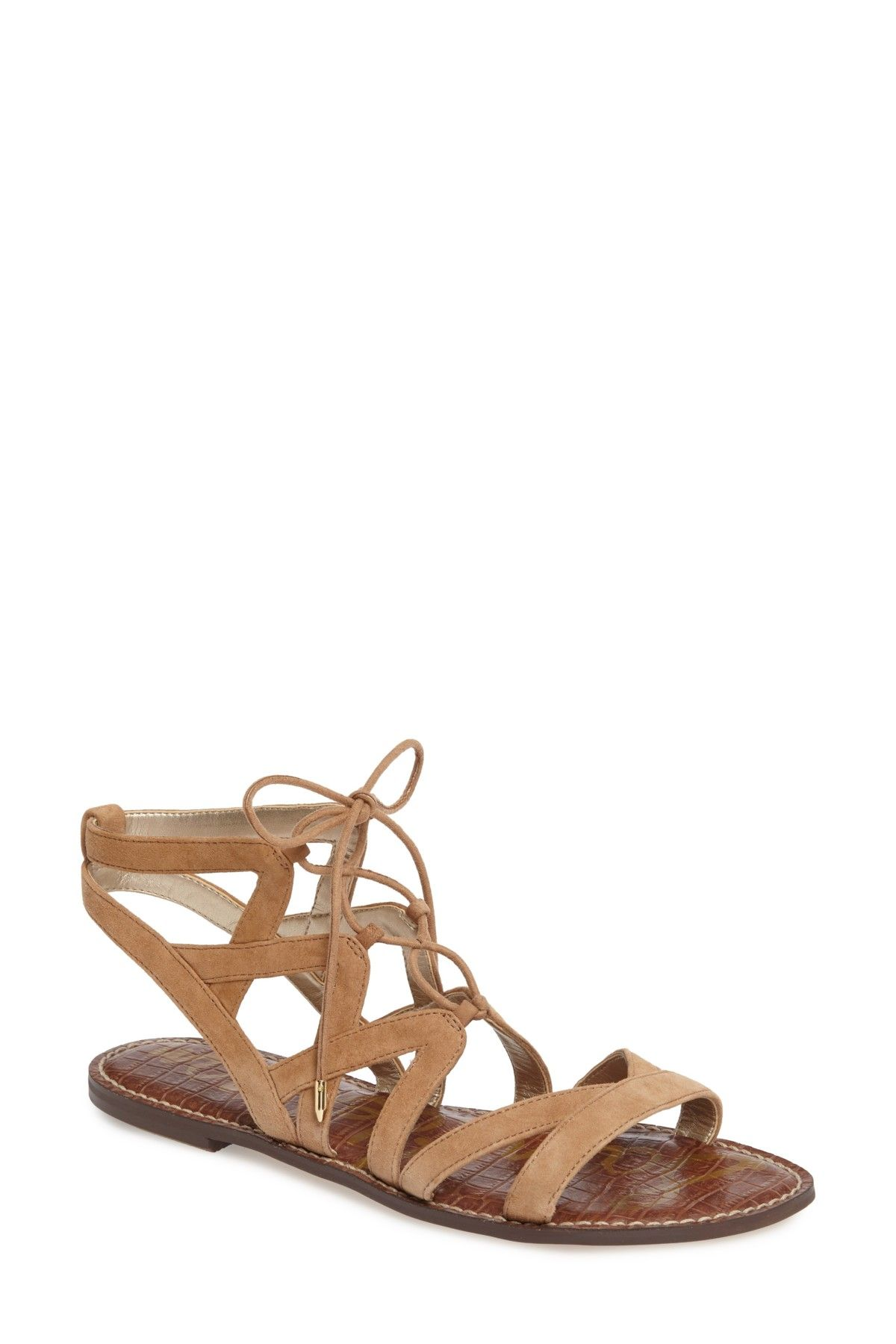 7b8b52f14d89 Gemma Lace-Up Sandal - Wide Width Available by Sam Edelman on   nordstrom rack