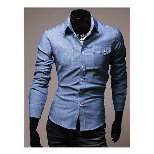 wholesale women Blue Cotton Blends Shirt $ 10.00
