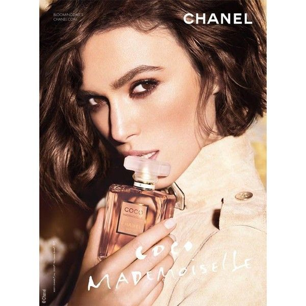 Keira Knightley pour Chanel Coco Mademoiselle Parfum 2011 ❤ liked on Polyvore featuring beauty products, fragrance, chanel fragrance, chanel perfume, parfum fragrance, chanel and perfume fragrance