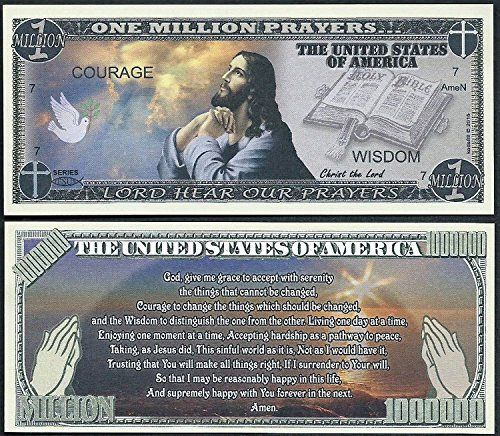 WASHINGTON RECREATIONAL MARIJUANA MILLION DOLLAR NOVELTY BILL Lot of 100 Bills