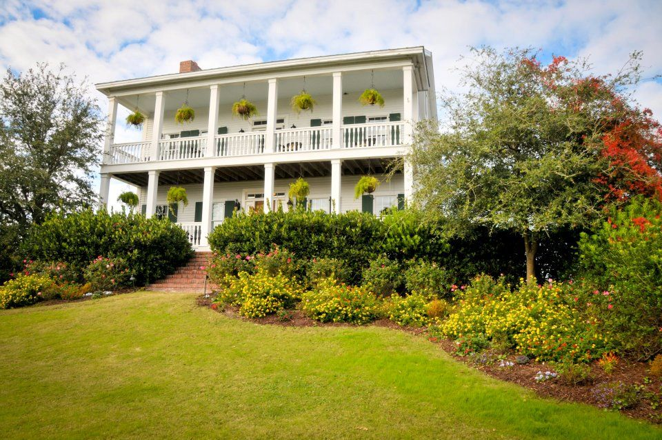 The Watson House Gardens In Emerald Isle Nc Our Beautiful Wedding Venue Beautiful Wedding Venues Coastal Wedding Wedding Business