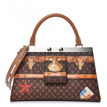 Louis Vuitton Transformed Monogram Calfskin Time Trunk Crown Frame Bag With Images Stylish Handbag Frame Bag Bags