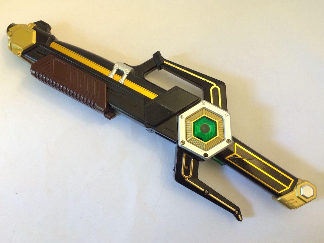 power rangers lost galaxy magna defender blaster weapon