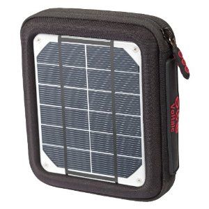 Voltaic Systems 1018 Amp Solar Charger and 3,000 mAh Battery - 4 Watts Solar Power for Handheld Electronics