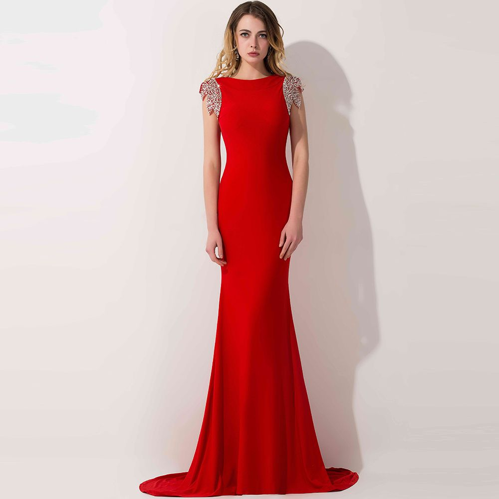Pin von Girl Quinceanera auf Red Formal Party Dresses/Red Prom ...