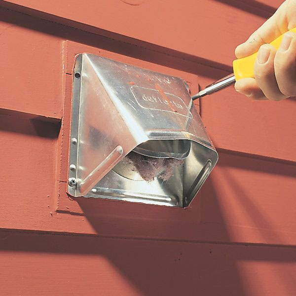How To Install A Dryer Vent That Keeps Out Pests The