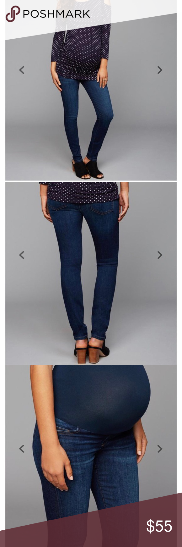 3b8f1c81ad2a0 Joe's Jeans Icon Skinny Ankle Maternity Joe's Jeans Icon Skinny Ankle  Maternity Size 27, but