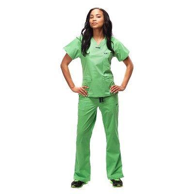 78d48ec4824 IguanaMed Women's Quattro Flare Scrub Pants - Iguana Green(Xxxl ...