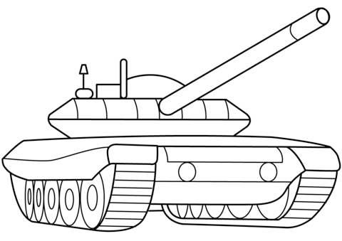 picture regarding Printable Tanks titled Armed service Armored Tank coloring web page Tanks Coloring Web pages