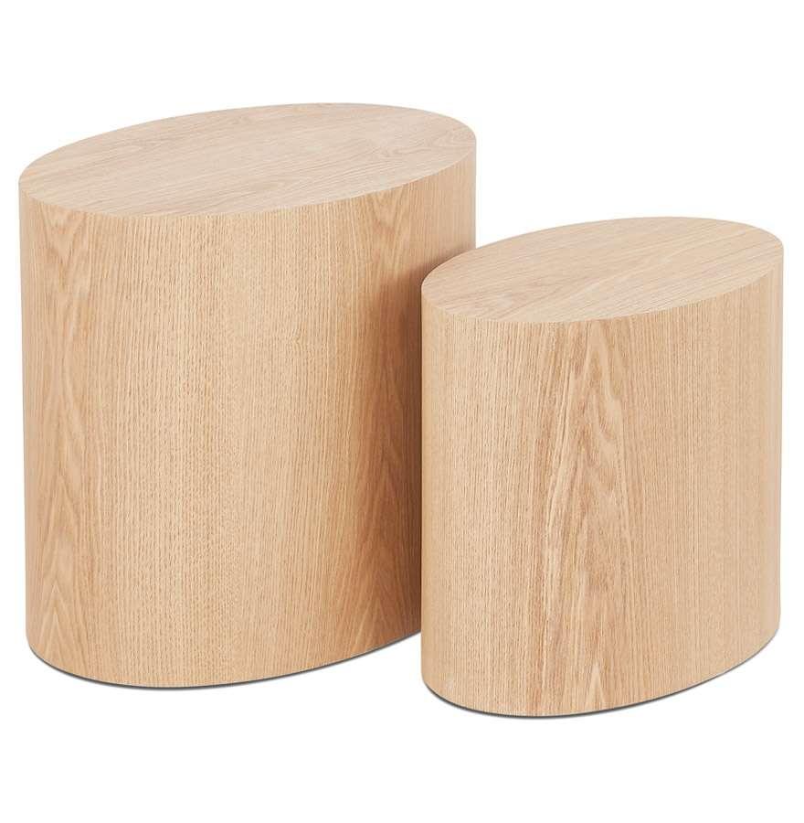 Beistelltisch Set Trunko Holz Beistelltische Set Design Beistelltisch Beistelltisch