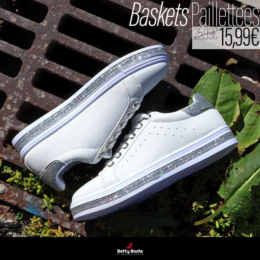 Basket Etoiles Paillettes Betty boots
