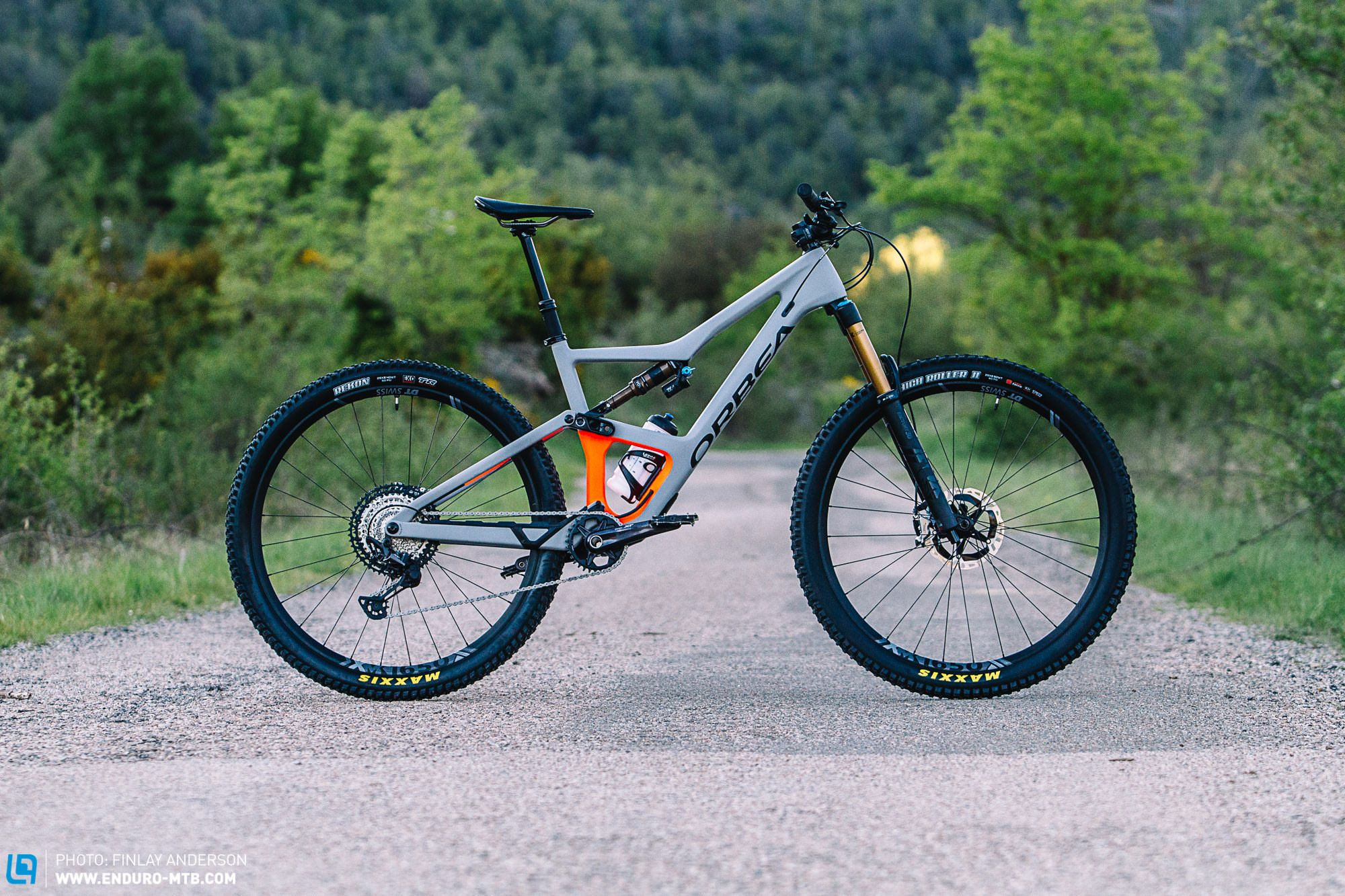 First Ride Review Orbea Occam 2020 The Spanish Trail Bike