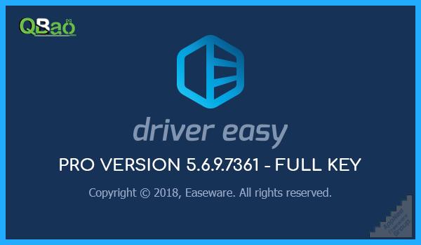 Driver Easy 5.6.9.7361 Full Key - hỗ trợ cập nhật và ...