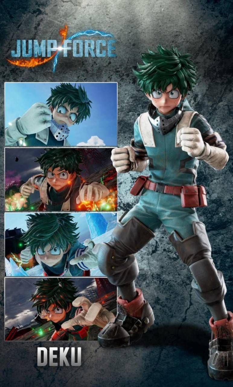 Download Deku Jump Force Hd Wallpaper By Heroicgamer17 5a Free On Zedge Now Browse Mi My Hero Academia Manga Hero Academia Characters Batman And Catwoman