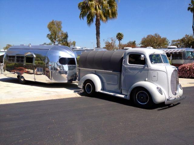 1947 Curtis Wright 1939 Ford Coe Tow Jim Randall Vista