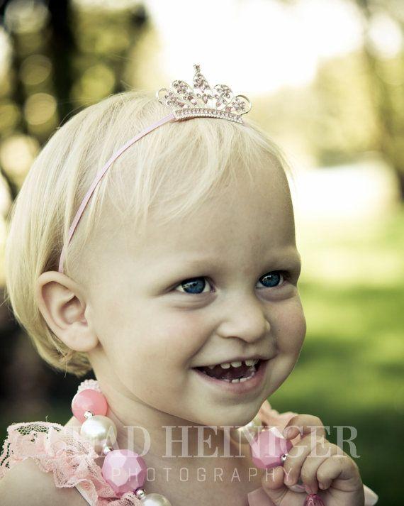 Items similar to Tiara Headband - Baby Tiara - Crown - Girls Infant Baby  Newborn Child Toddler Headband on Etsy 886cc624c26