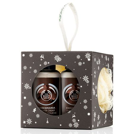 Festive Chocomania Gift Cube: Mini bathtime treats with the delicious scent of chocolate. A great stocking filler, in a festive box.