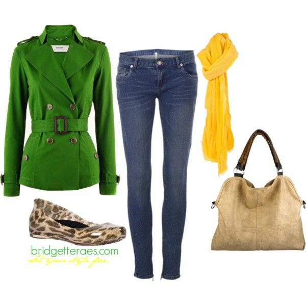 Color Blocked in the Rain, created by bridgetteraes on Polyvore