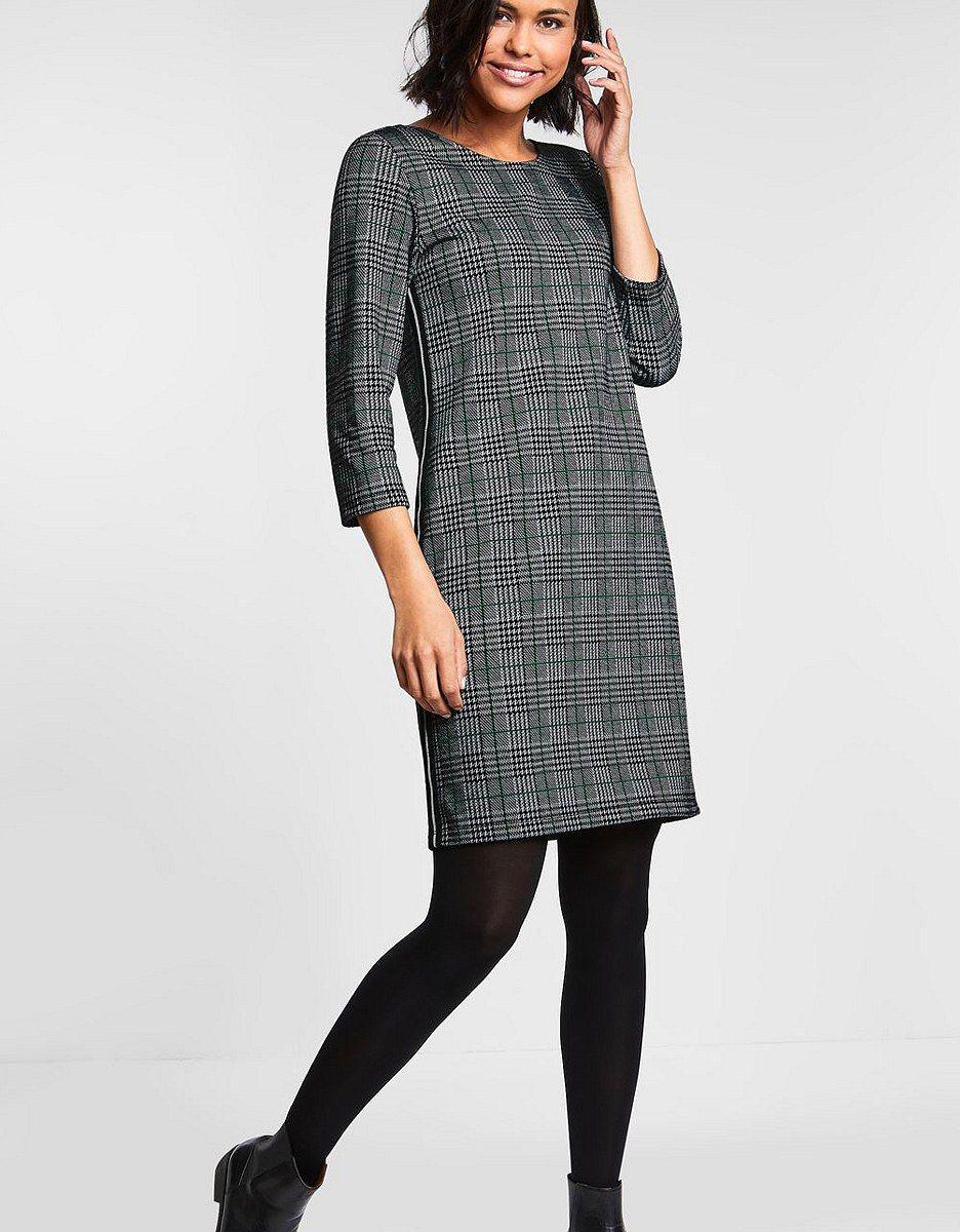 Karo-Style Kleid  Street One  ADLER MODE  Modestil, Kleider