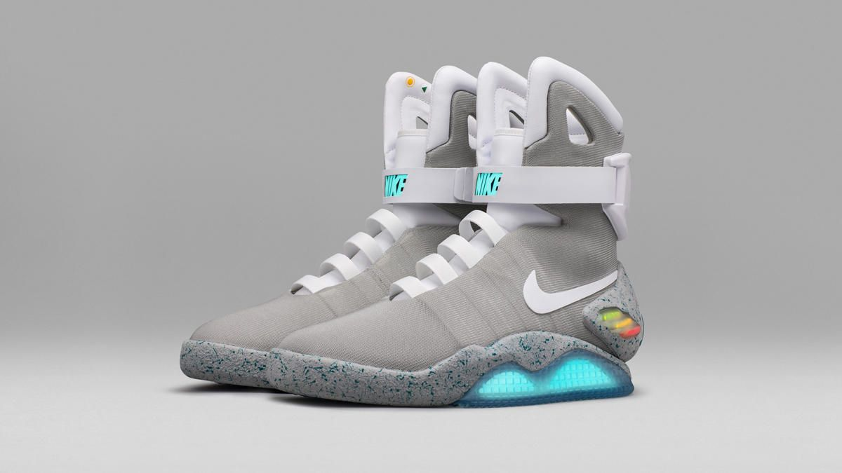 Nike Raffles 'Back to the Future' Self-Lace Nike Mags