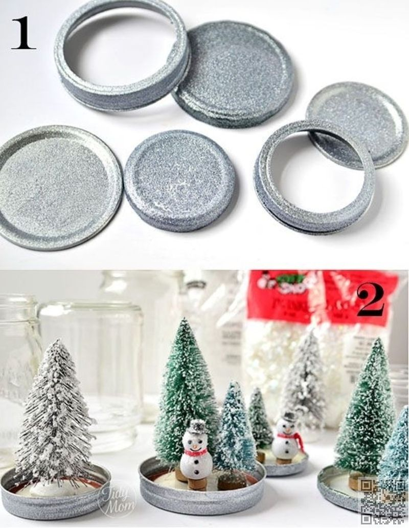 31 Diy Snow Globes To Make Before Christmas With Images