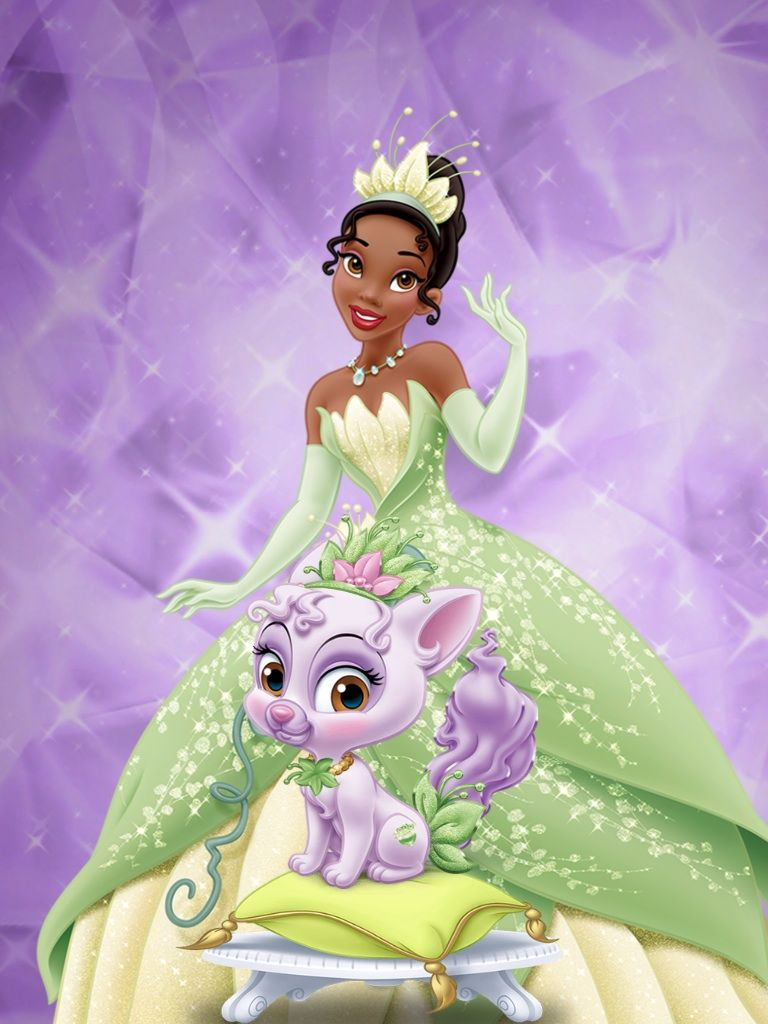 This is a graphic of Adaptable Pictures of Princess Tiana