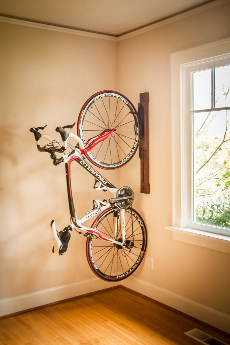 Amazing Space Saving Dirt Bike Storage Ideas For Small Room And Apartments These Indoor Bike S Wall Mount Bike Rack Indoor Bike Storage Bike Storage Apartment