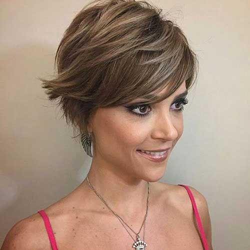 Splendid Layered Kurze Haarschnitte für Damen | Madame ...