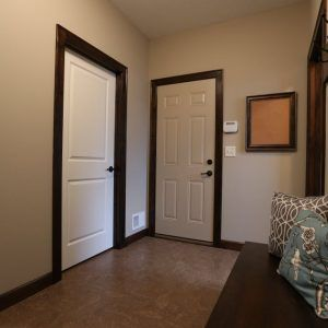 White interior doors with stained wood trim paint - White interior doors with wood trim ...