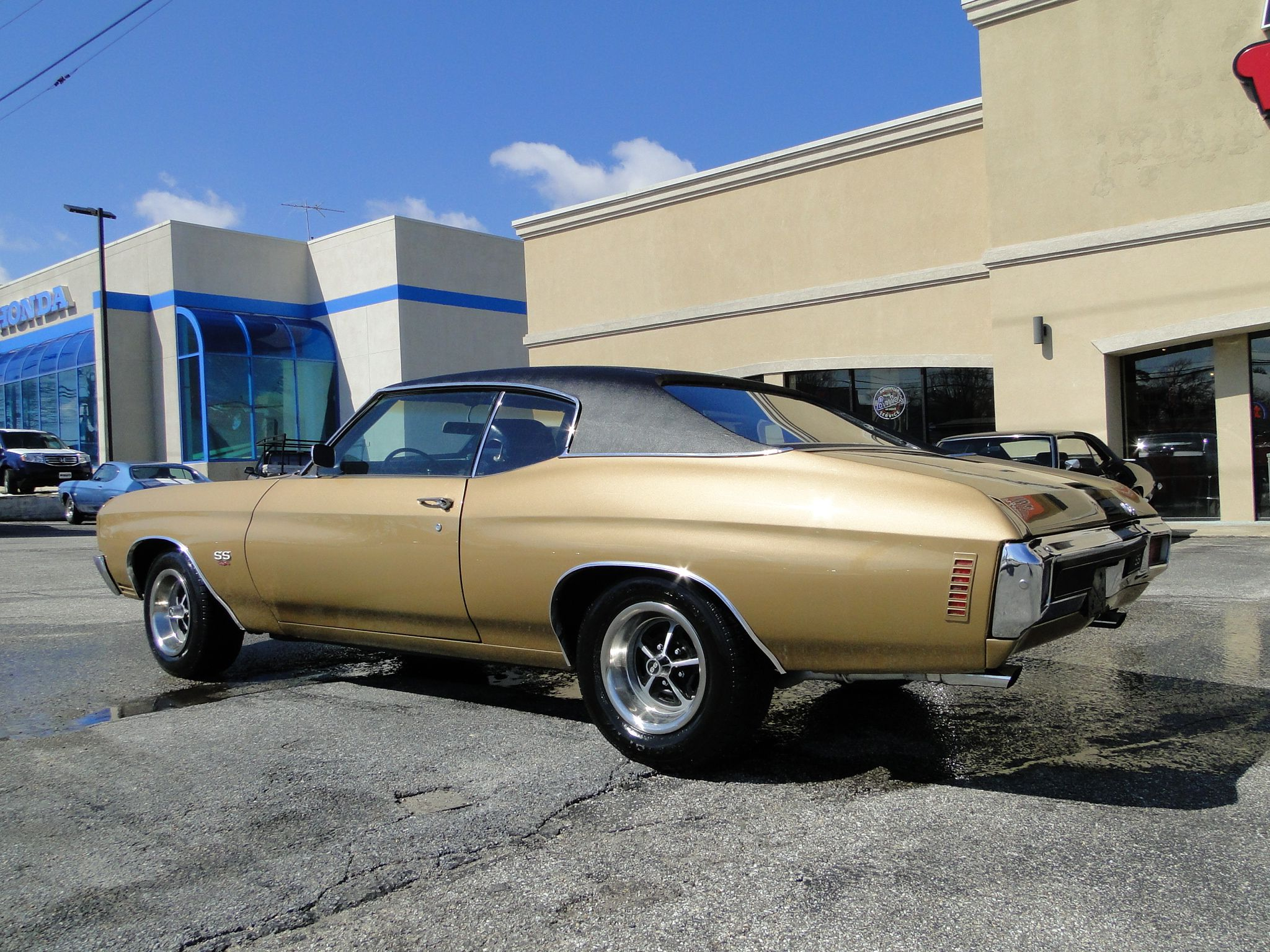 For Sale 1970 Real Super Sport Chevelle Has Been Repainted To Its