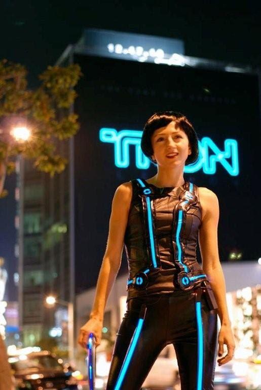Burning Man,TRON, , EL Wire, Electroluminescent, cosplay, decorative ...