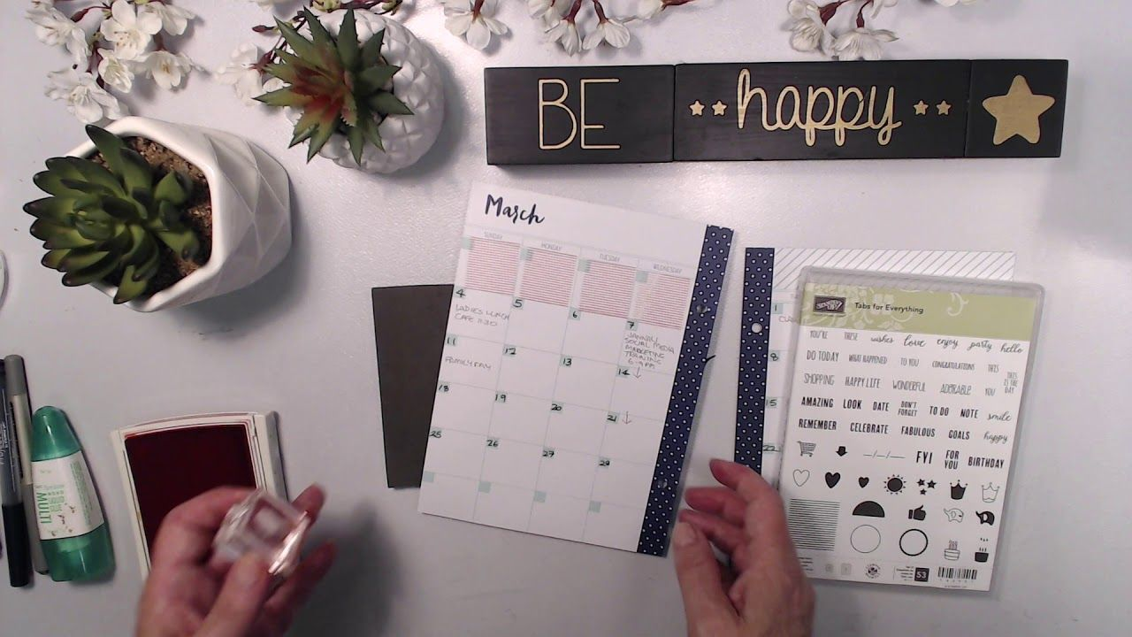 25 Planner HACKS You Need To Try! Part 3. Stampin' Up