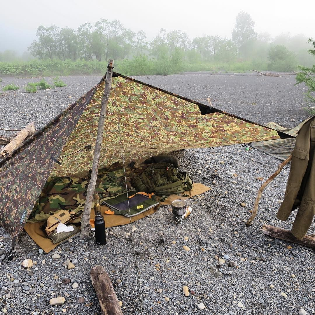 Bushcraft Survival Skills: #ブッシュクラフト #ddhammocks #ddtarp #bushcraft