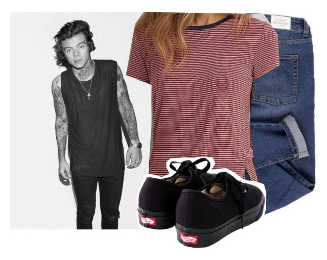 """Shooting with Harry"" by vindra-rampersad ❤ liked on Polyvore featuring Cheap Monday, American Eagle Outfitters, Vans, women's clothing, women, female, woman, misses and juniors"