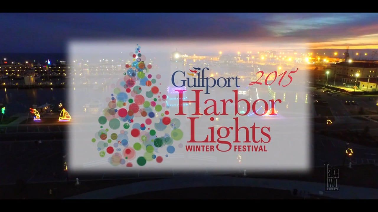 a beautiful sneak peak of the gulfport harbor lights winter festival if you are spending your holidays on the mississippi gulf coast you dont want to